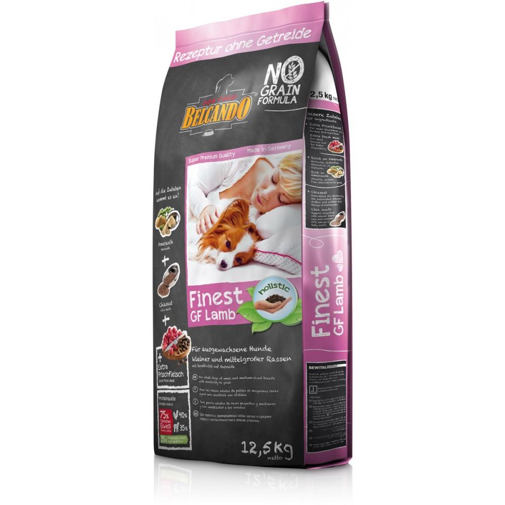 Belcando Finest GF Lamb беззерновой корм для собак мелких и средних пород с ягненком