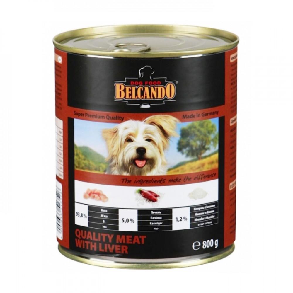 Belcando Conserve pentru câini , carne aleasă și ficat
