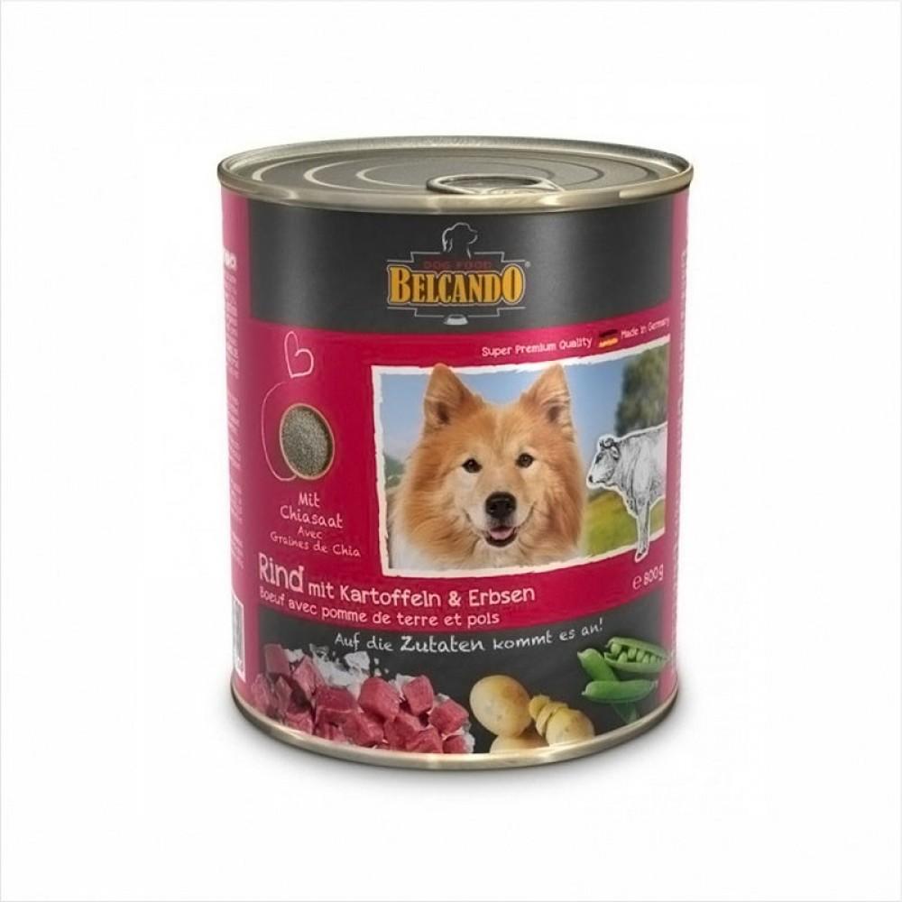 Belcando Консервы для собак , говядина с картофелем и горохом