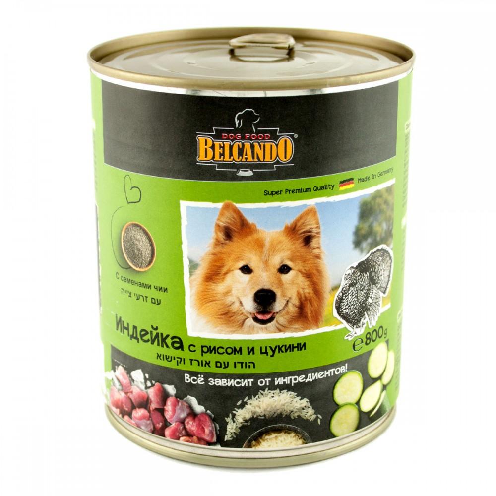Belcando Conserve pentru câini, curcan cu orez și dovlecel