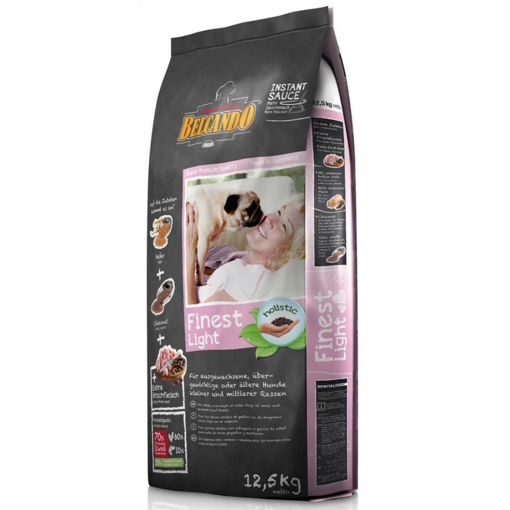 Belcando Finest Light для собак мелких и средних пород с пониженной активностью