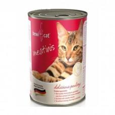 Bewi Cat  Poultry. Консервы для кошек с курицей