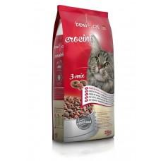 Bewi Cat CROCINIS 3-MIX. Корм для взрослых кошек, привередливых к еде. Тройной микс – с курицей, индейкой и рыбой