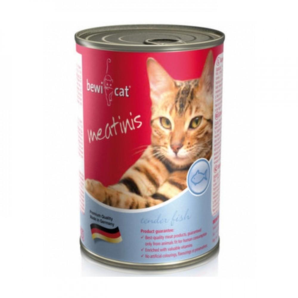 Bewi Cat  Fish-  Консервы для кошек с рыбой