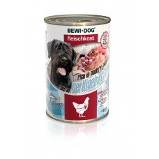 Bewi Dog Poultry Heart. Conserve pentru câini inimi de găină