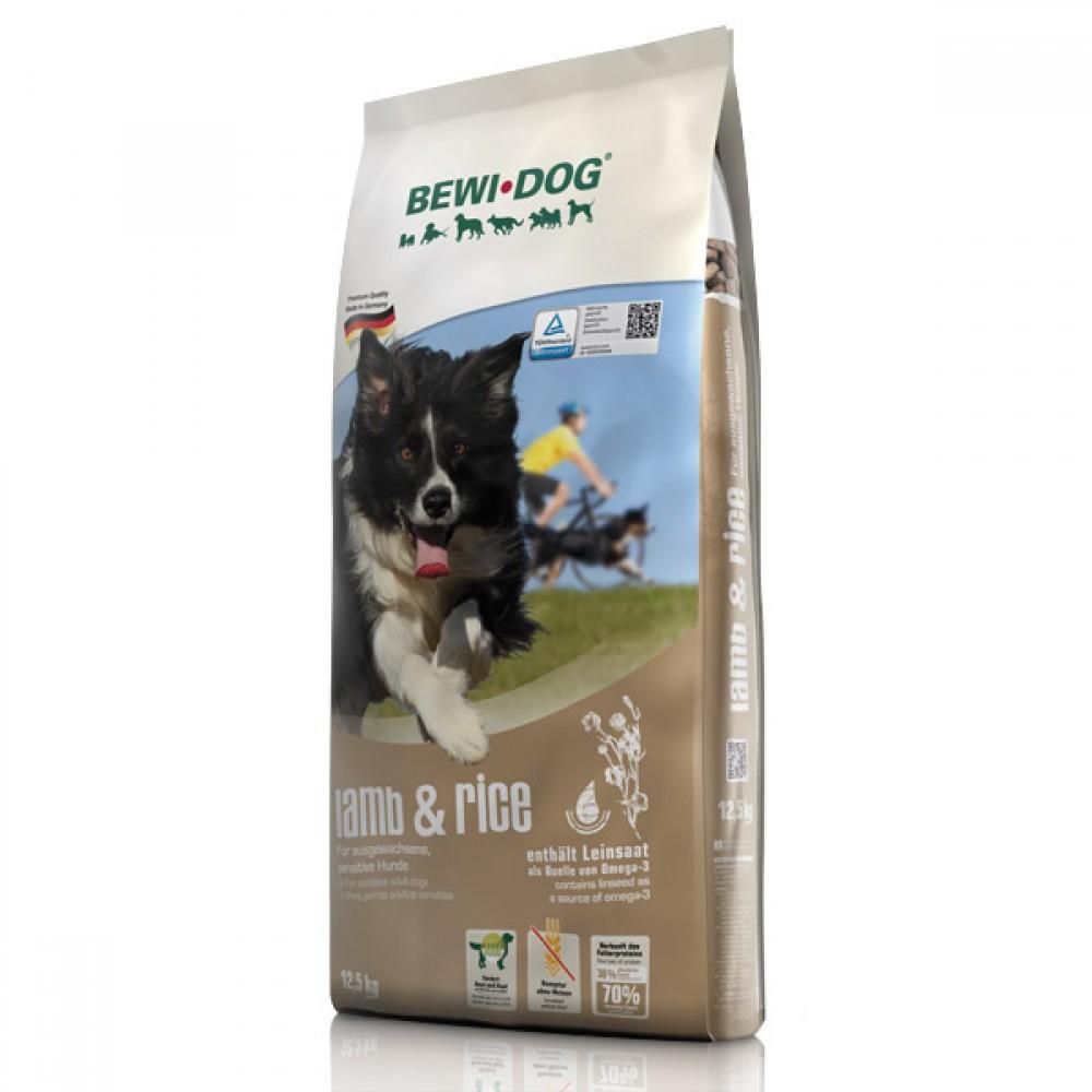 Bewi Dog LAMB & RICE. Корм для чувствительных взрослых собак Ягнёнок и рис.