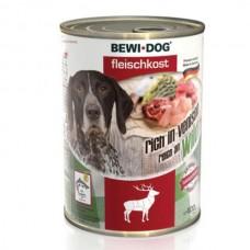 Bewi Dog  venison. Conserve pentru câini,Cerb