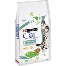 Cat Chow Sterilised Purina. Сухой корм для кастрированных и стерилизованных кошек