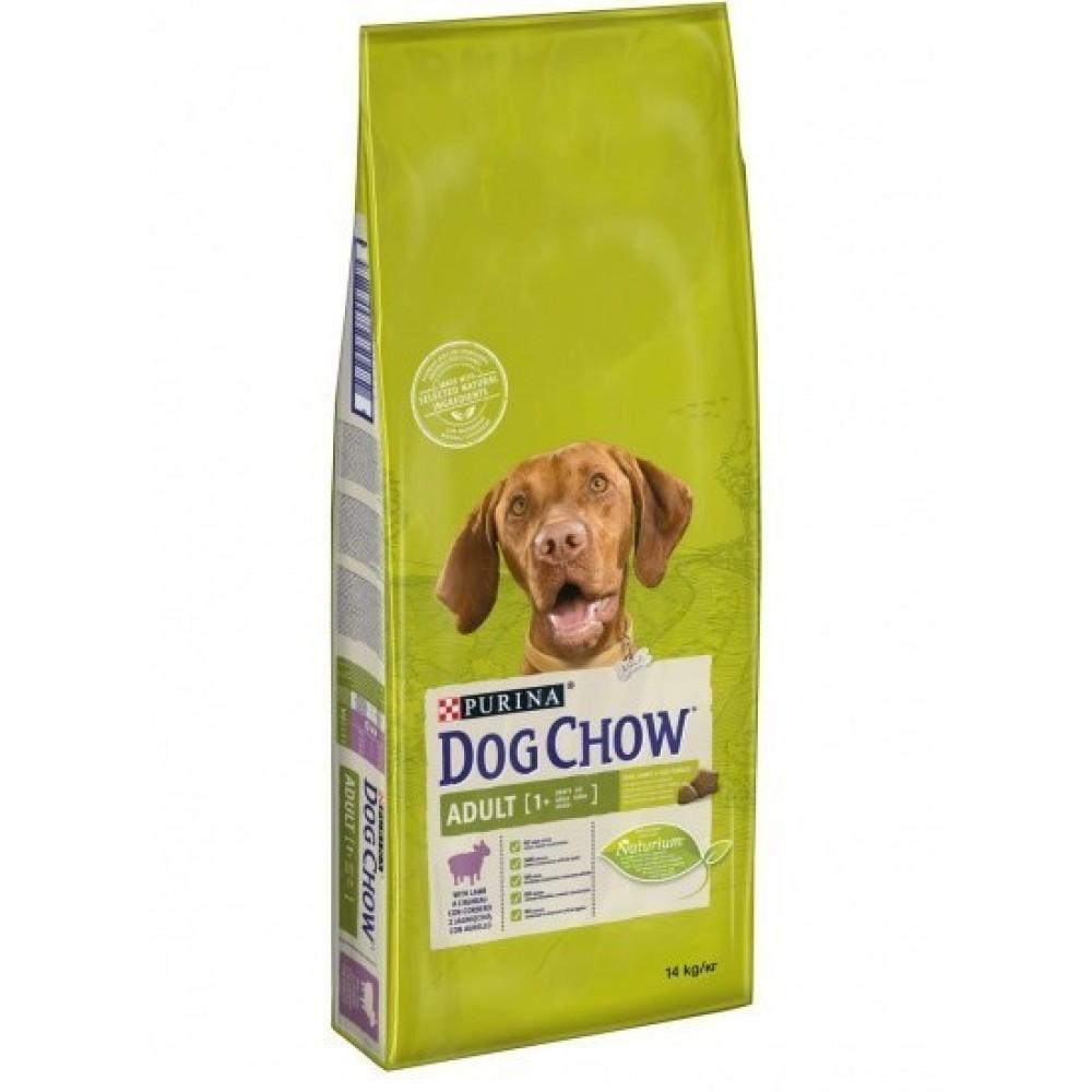 Mâncare uscată cu gust de miel pentru adulți Dog Chow pentru câini adulți