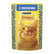 FRISKIES Adult PURINA. Conserve pentru pisici cu somon