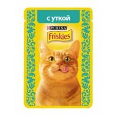 FRISKIES Adult PURINA. Conserve pentru pisici cu rață