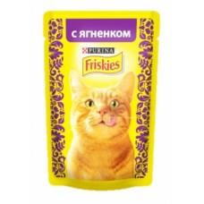 FRISKIES Adult PURINA. Conserve pentru pisici cu miel