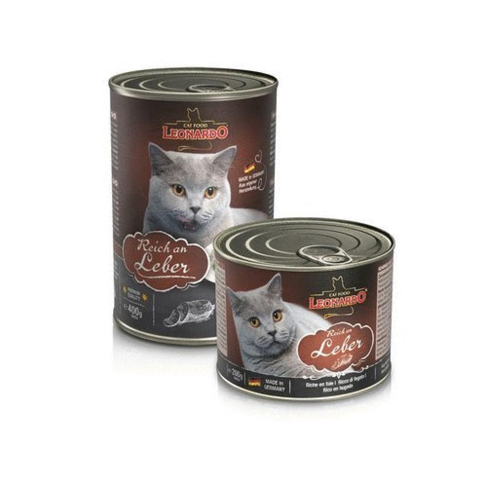 Leonardo Rich In Liver Quality Selection Консервы для кошек c печенью