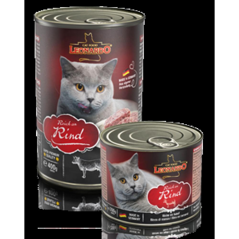 Leonardo Beef Quality Selection Консервы для кошек c Говядиной