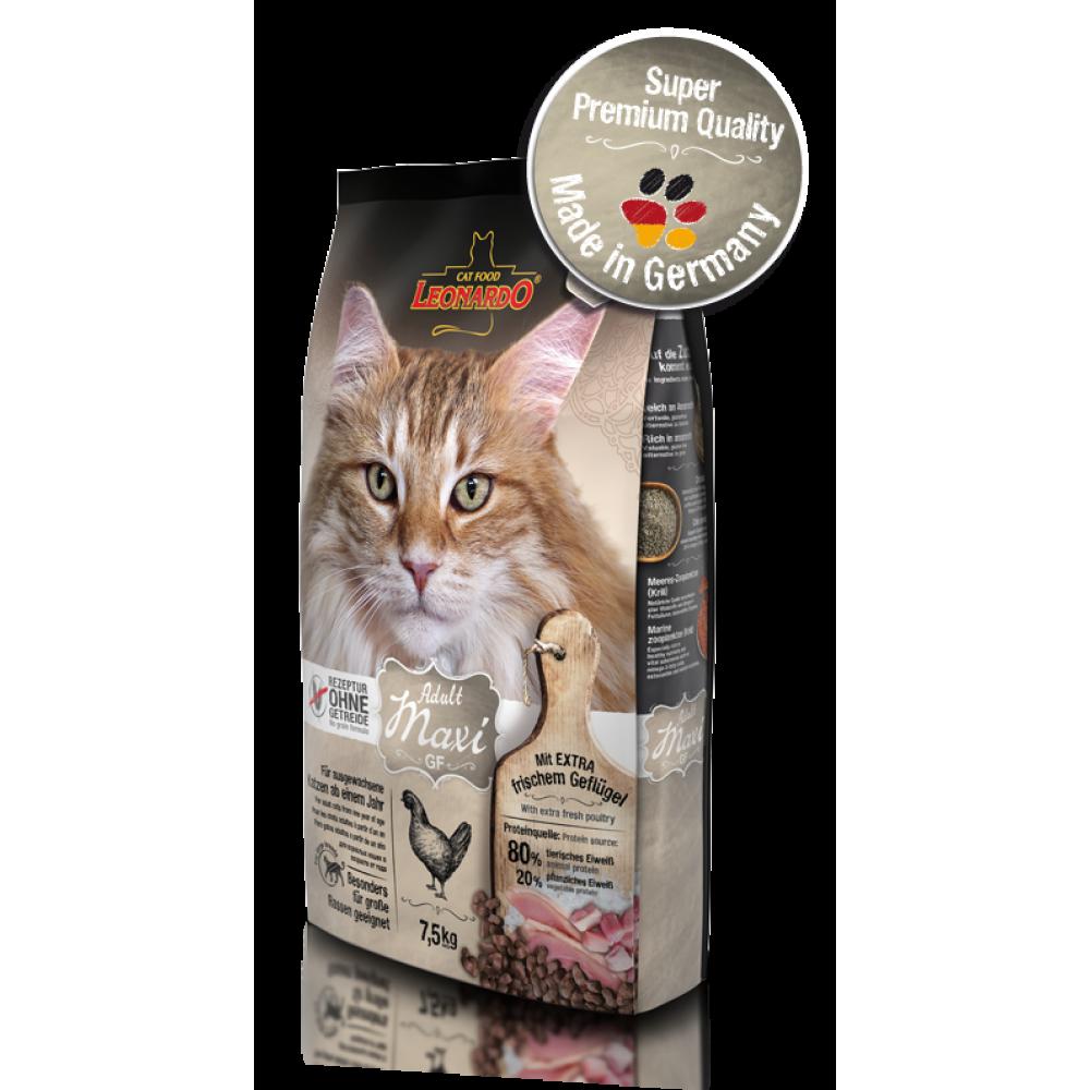Leonardo Adult Maxi GF Hrană uscată pentru pisici fără cereale pentru rase mari