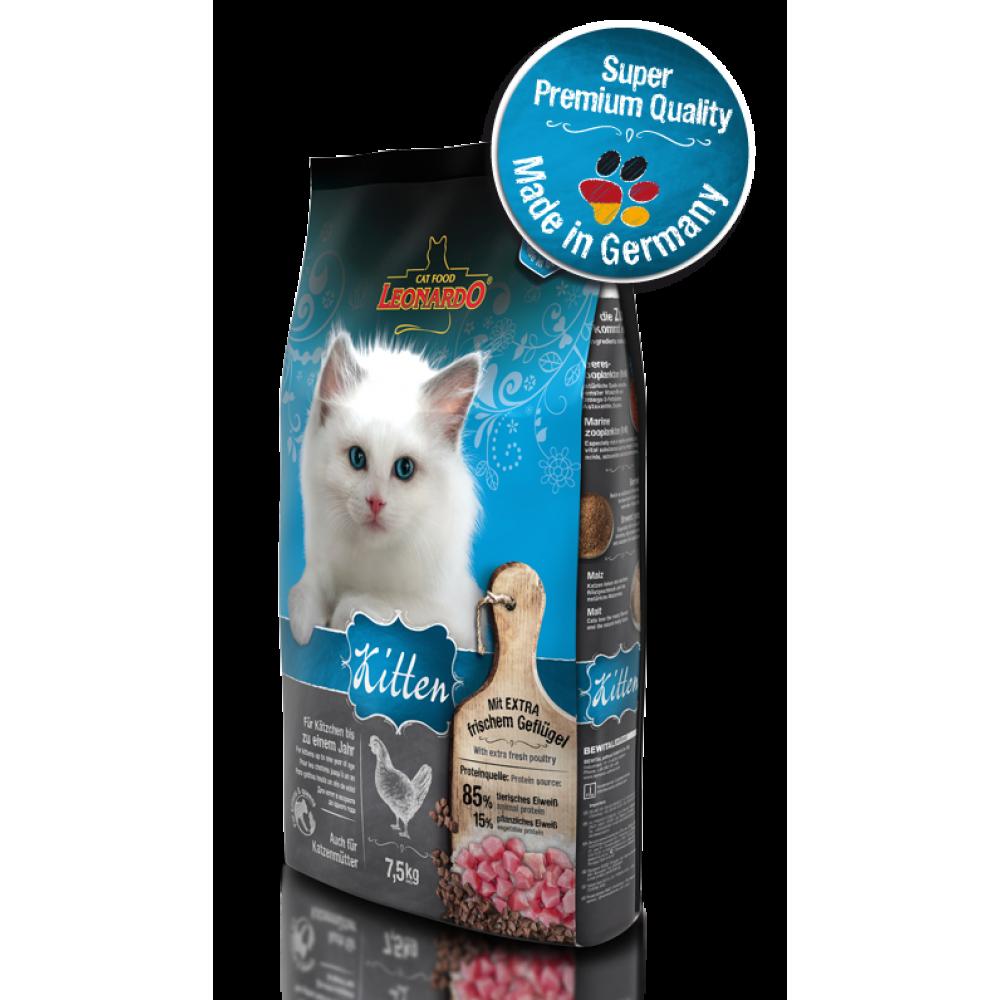 LENARDO KITTEN Hrană pentru pisoi și pisici în perioada de sarcină
