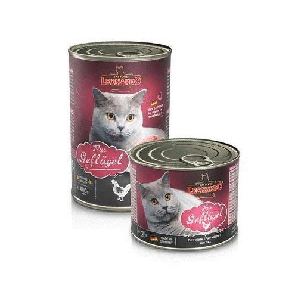 Leonardo Pure Poultry Quality Selection  Консервы для кошек c птицей