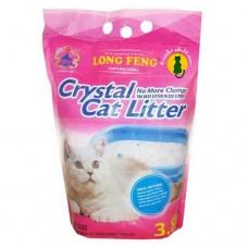 Cristal Cat Litter 2. Наполнитель для кошачьего туалета, силикогелевый 3.8 л