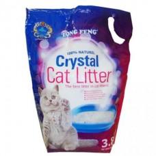 Cristal Cat Litter. Наполнитель для кошачьего туалета, силикогелевый  3.8 л