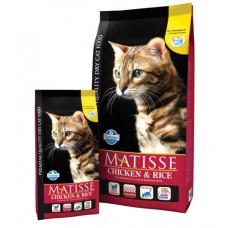 Matisse Chicken & Rice.Сухой корм для взрослых кошек, курица и рис