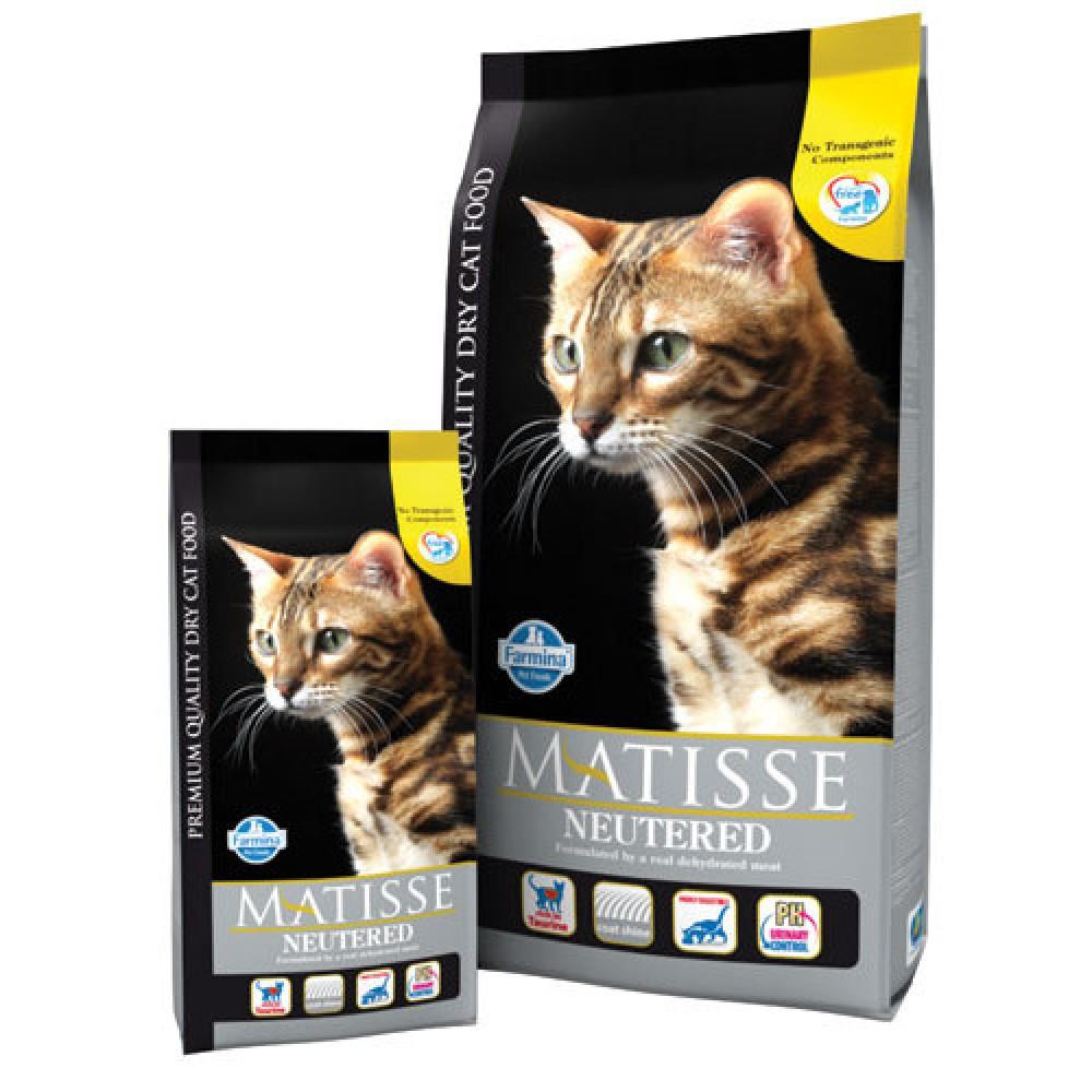 Matisse Neutered. Hrană uscată pentru pisici sterilizate și motani castrați