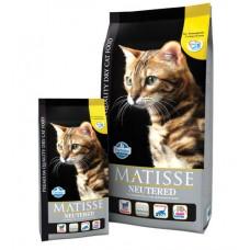 Matisse Neutered. Сухой корм для взрослых стерилизованных кошек и кастрированных котов