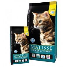 Matisse Chicken & Turkey. Сухой корм для взрослых кошек, курица и индейка