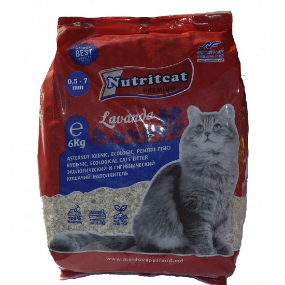 Nutritcat Premium Asternut Pentru Pisici (Granule Mari)