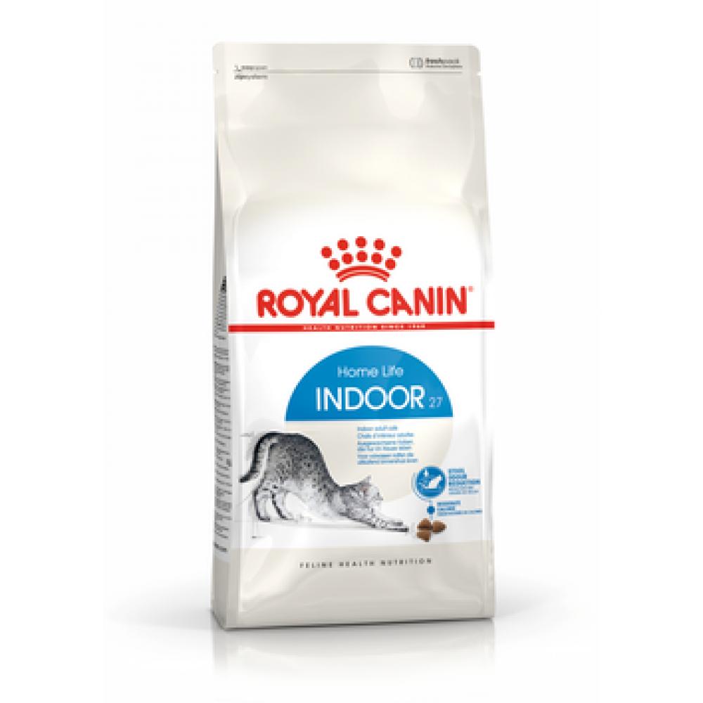 ROYAL CANIN Indoor 27. Сухой корм для домашних кошек от 1 до 10 лет
