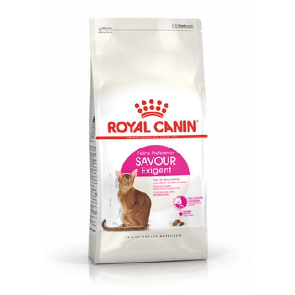 ROYAL CANIN Exigent Savour . Сухой корм для кошек, привередливых к вкусу продукта