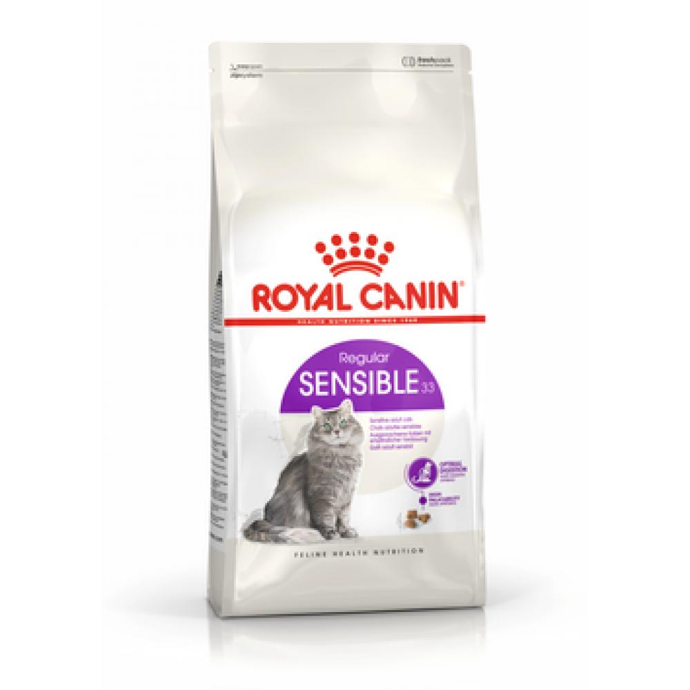 ROYAL CANIN Sensible 33. Сухой корм для кошек с чувствительным пищеварением