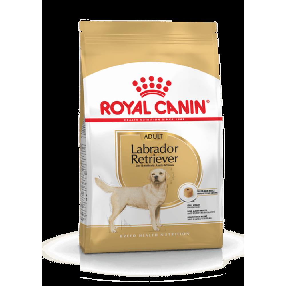 ROYAL CANIN Labrador Retriever Adult. Hrană completă special creată pentru câinii adulți și seniori din rasa Labrador Retriever, cu vârsta de peste 15 luni.