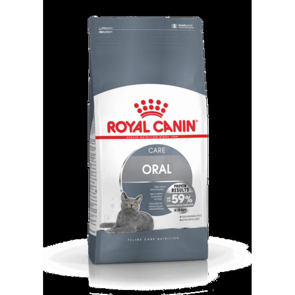 ROYAL CANIN Oral Care.  Hrană echilibrată și completă special adaptată pentru reducerea pietrei dentare