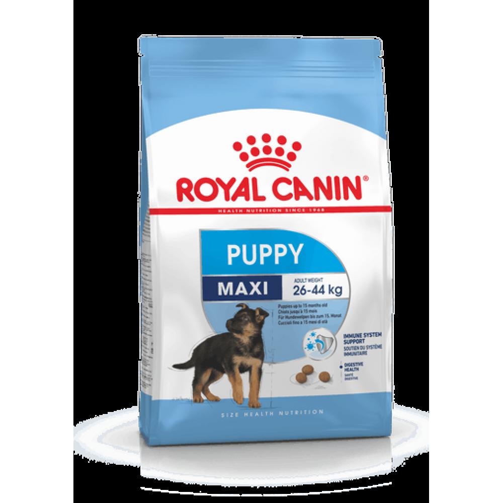 ROYAL CANIN Maxi Puppy. Сухой корм для щенков крупных пород с 2 до 15 месяцев