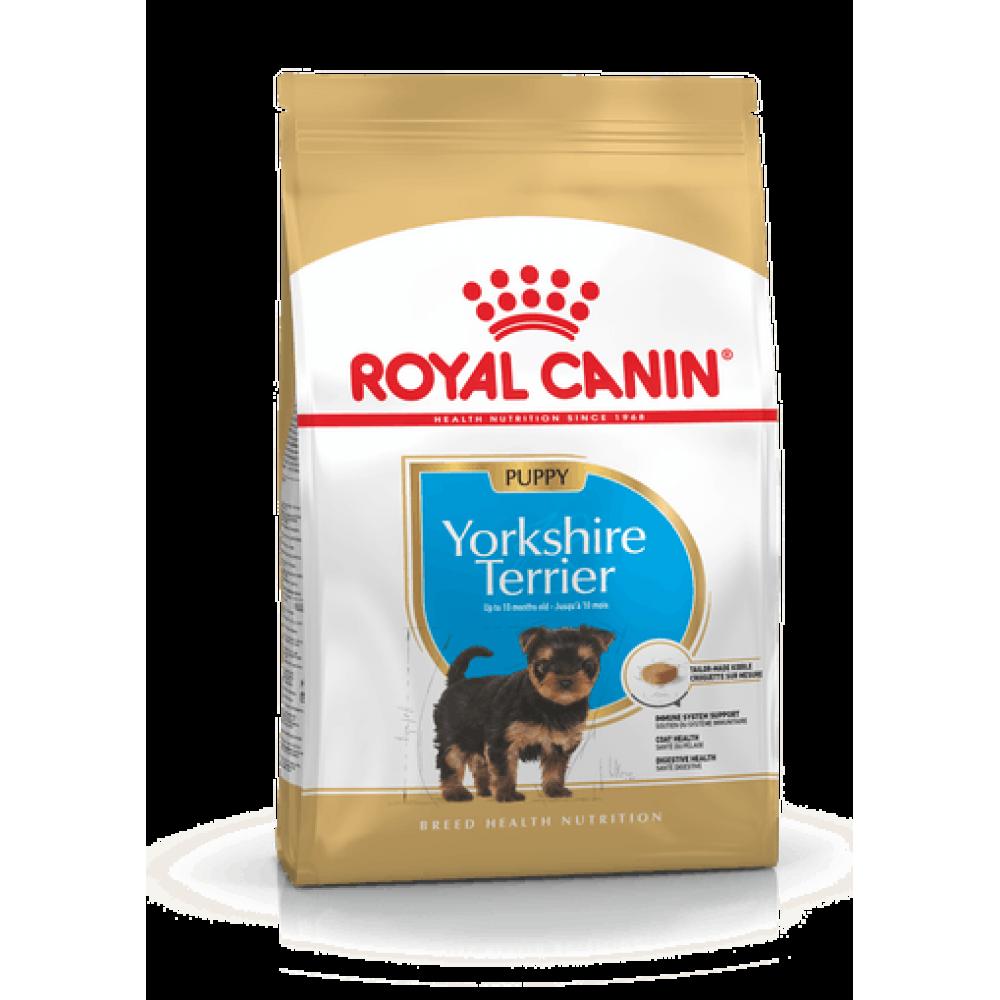 ROYAL CANIN YORKSHIRE TERRIER PUPPY. Hrană completă pentru cățeii din rasa Yorkshire Terrier, cu vârsta cuprinsă între 2 și 10 luni.