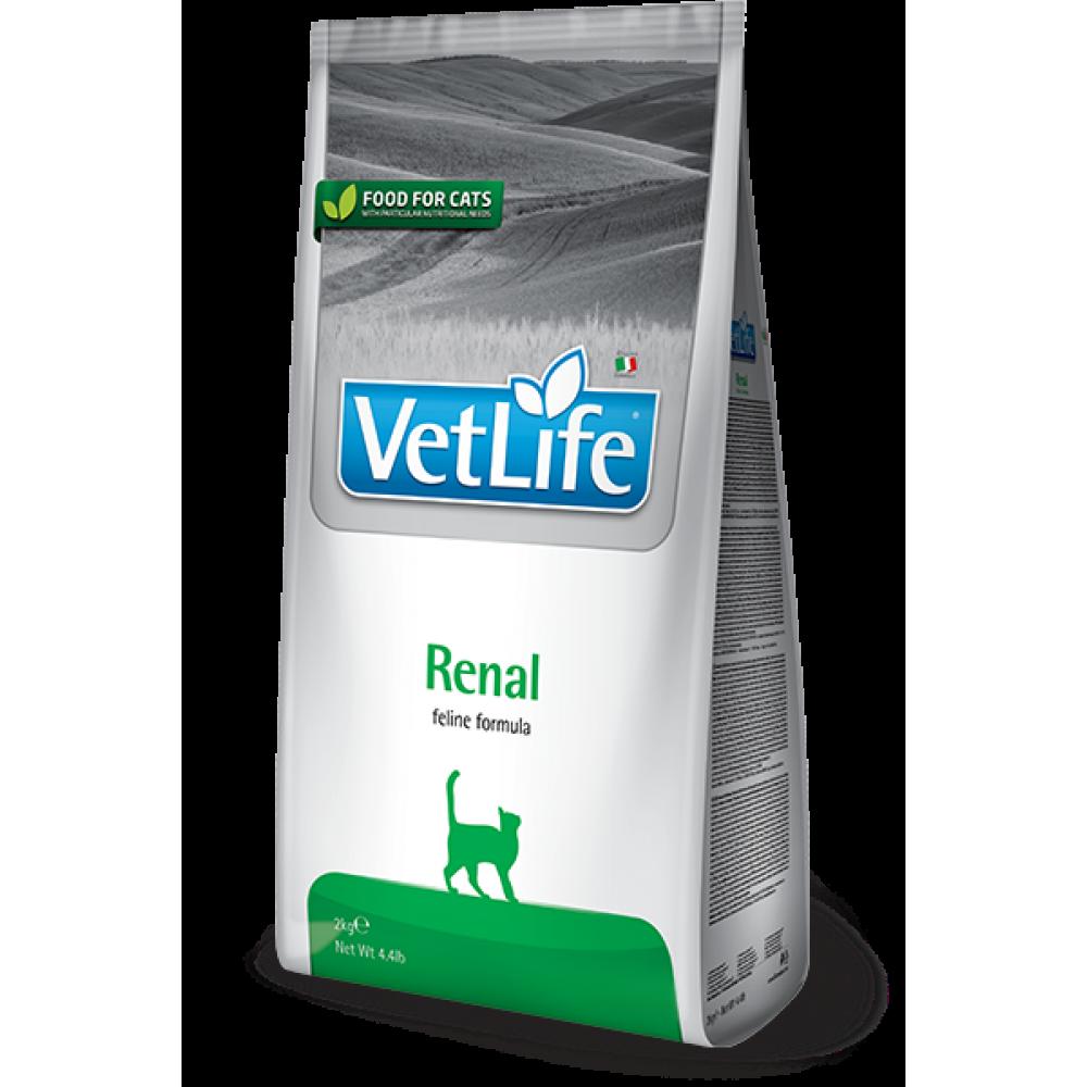 Vet Life Cat Renal, Farmina. Сухой корм для кошек, при почечной недостаточности