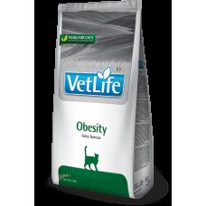 Vet Life Cat Obesity, Farmina. Сухой корм для кошек, для снижения излишнего веса