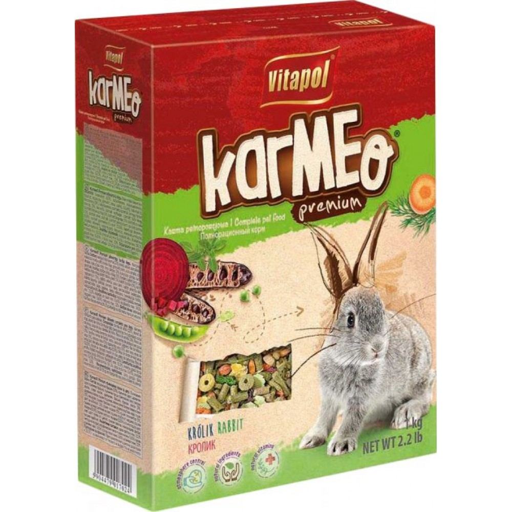 Vitapol Karmeo hrana naturala pentru iepuri