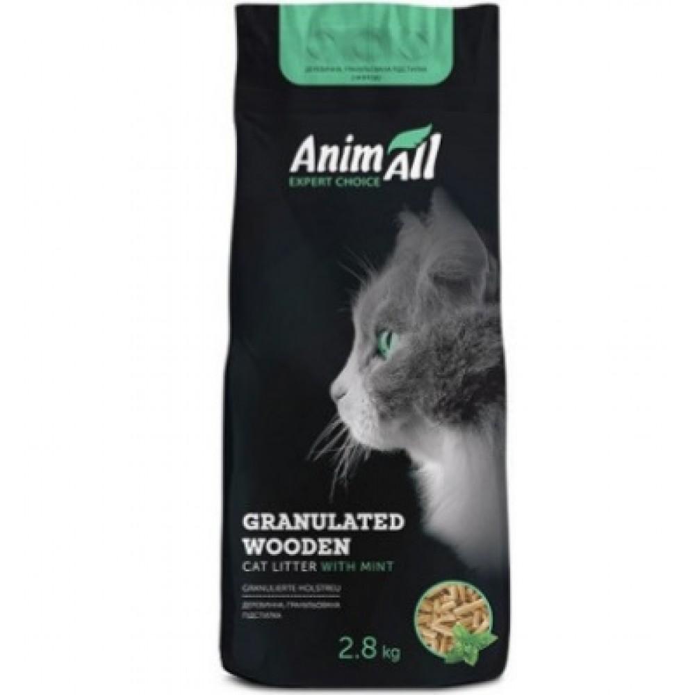 Animall Așternut igienic pentru pisici cu aromă de mintă