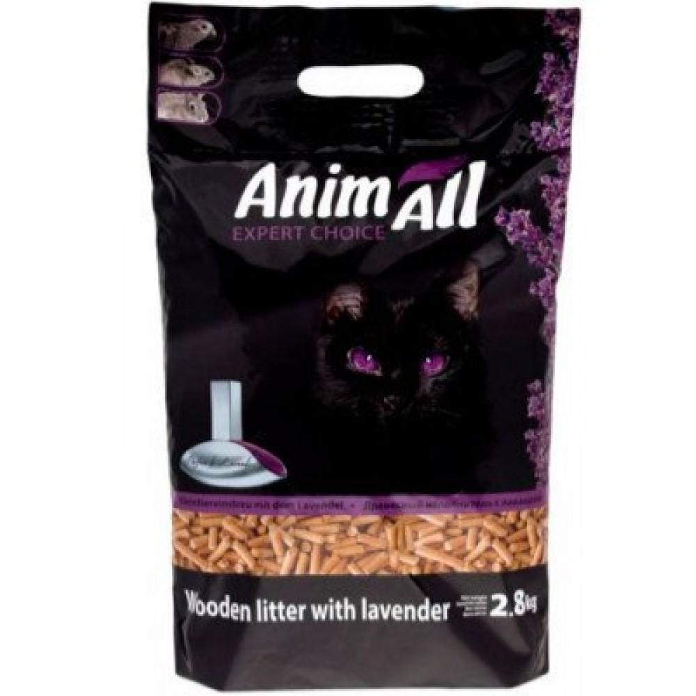 Animall Наполнитель для кошачьего туалета с ароматом лаванды