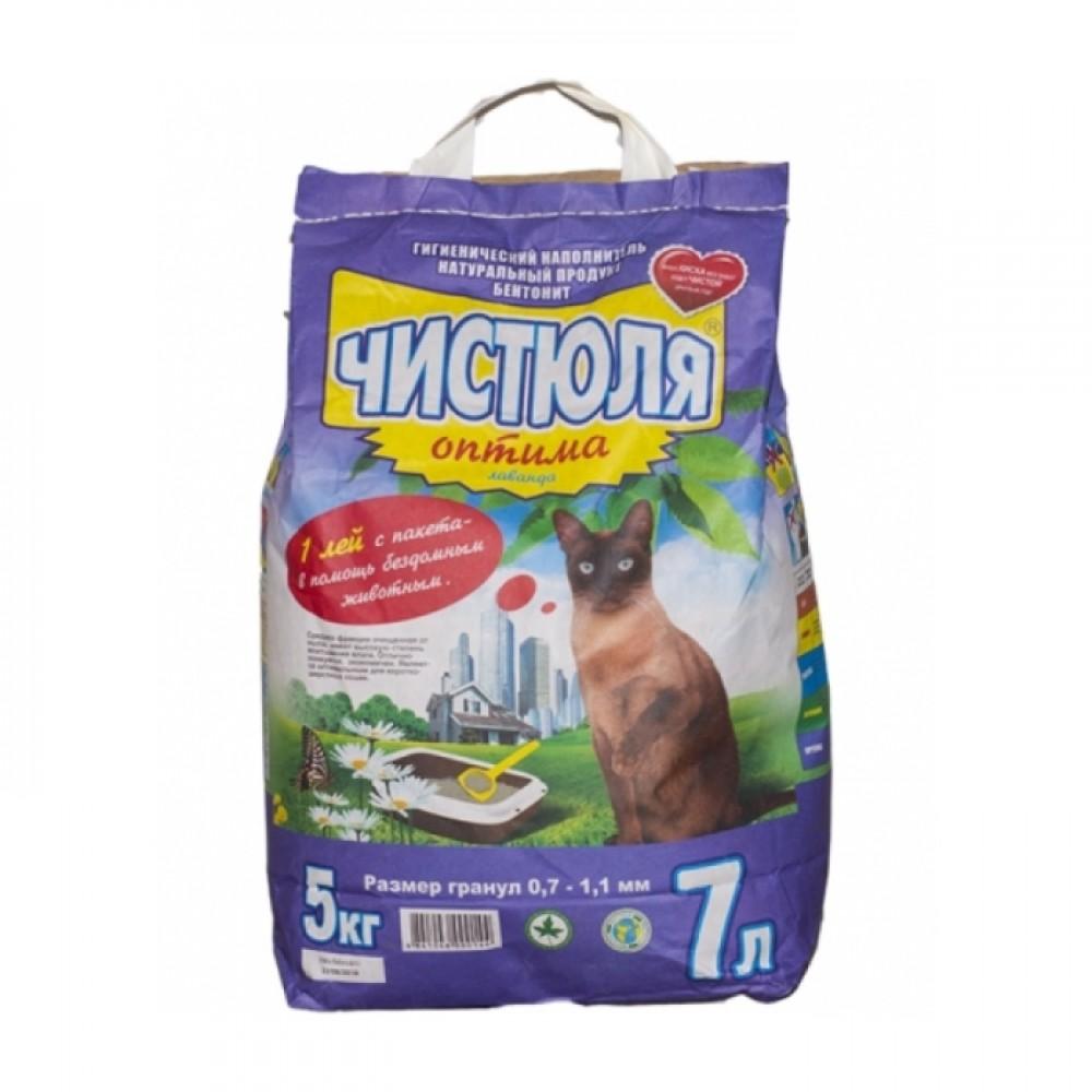 Asternut igienic pentru pisici Чистюля Optima