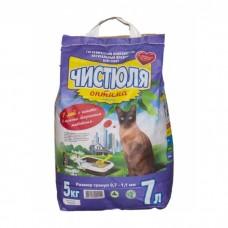 Наполнитель для кошачьего туалета Чистюля Оптима