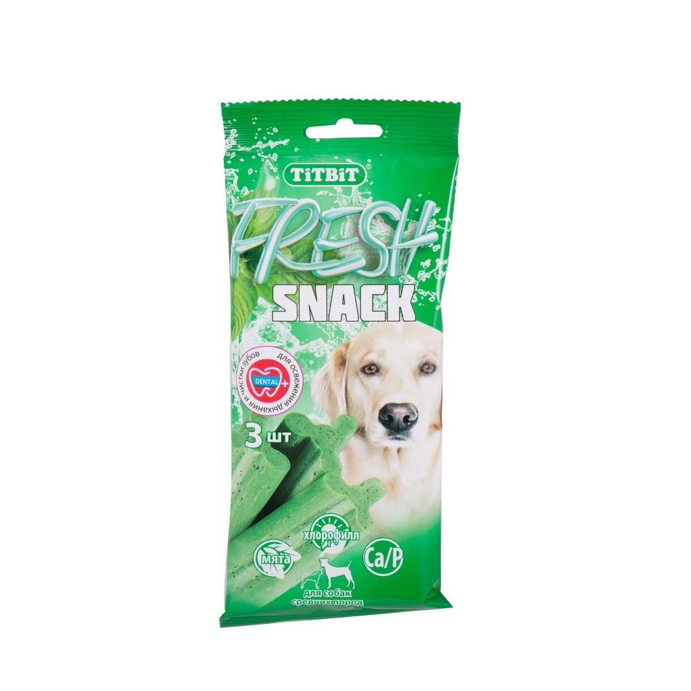 TiTBiT Snack Fresh pentru caini de rase medii