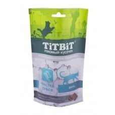TiTBiT Хрустящие подушечки для кошек с мясом утки для чистки зубов