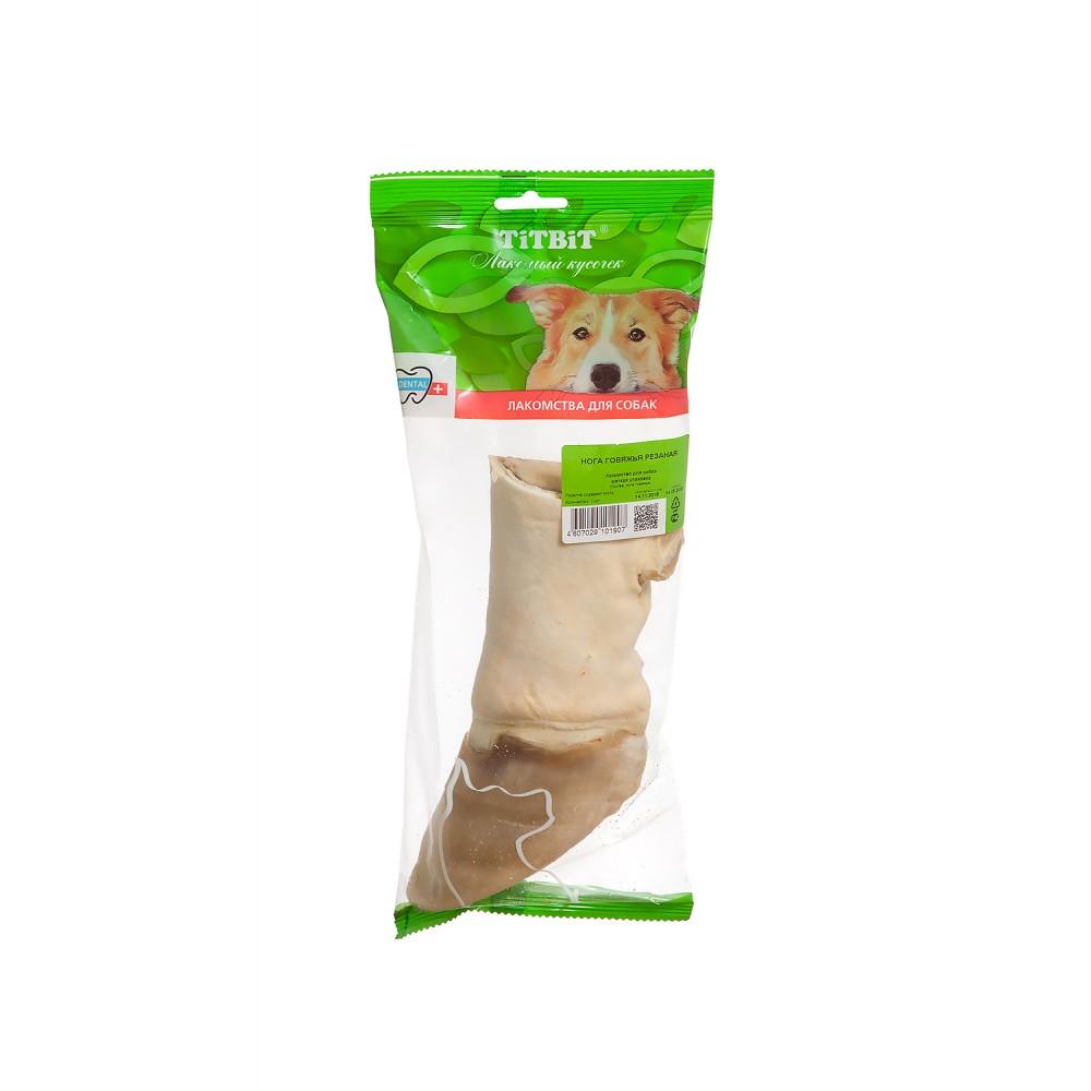 TiTBiT Нога говяжья резаная - мягкая упаковка