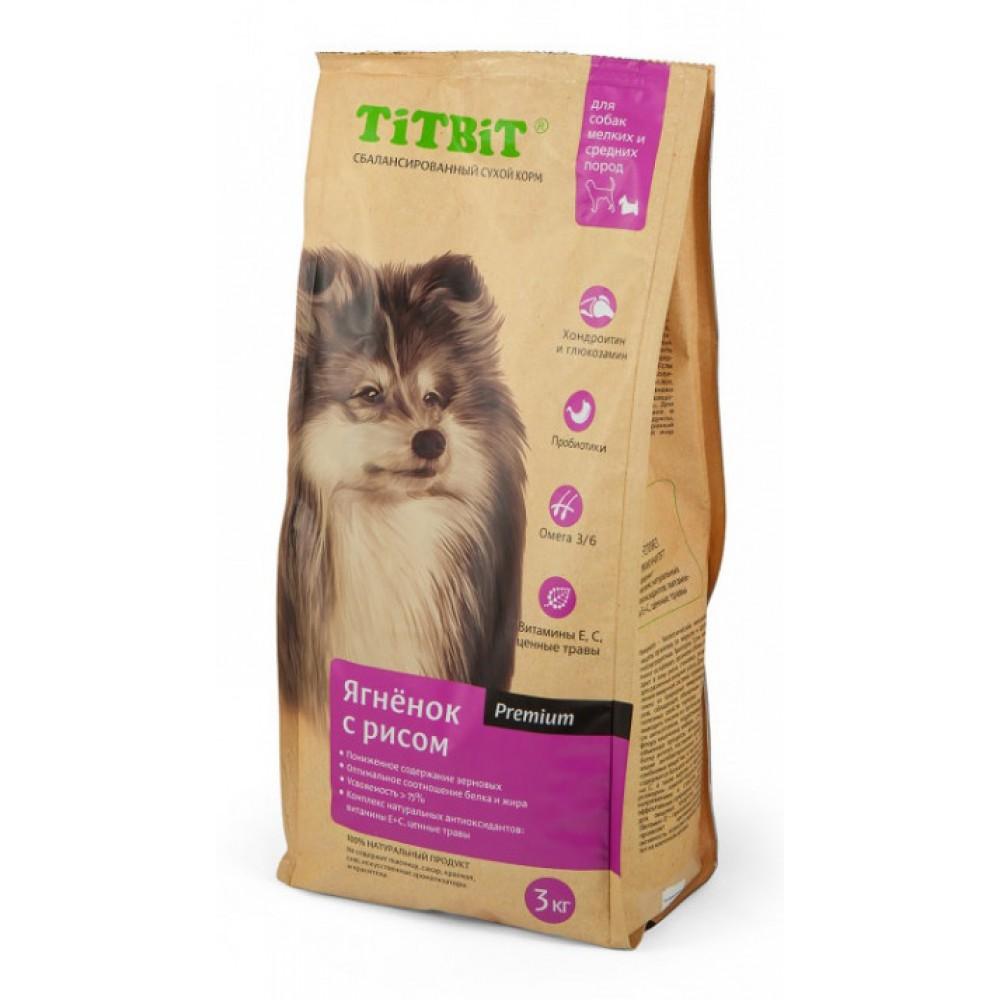 TiTBiT Корм сухой для собак мелких и средних пород