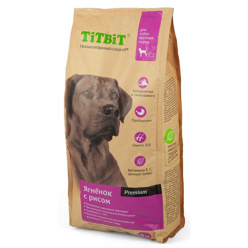 TiTBiT Корм сухой для собак крупных пород
