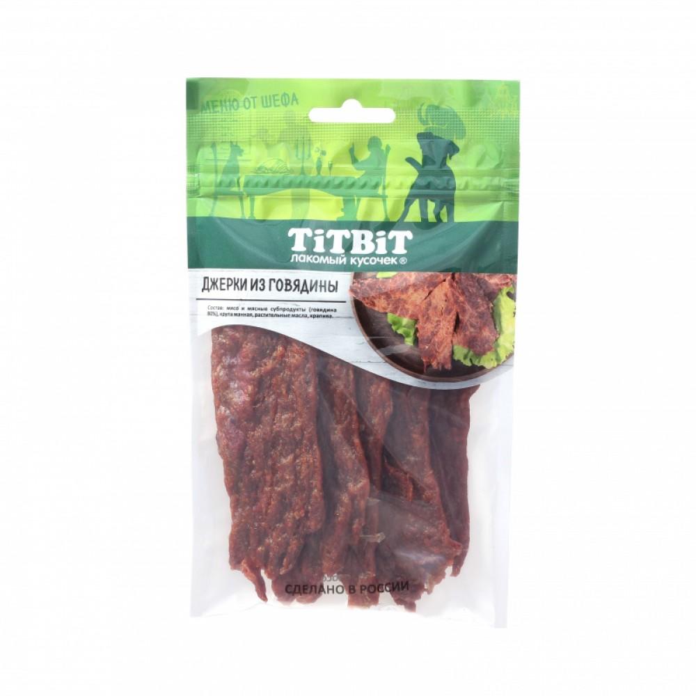 TiTBiT Джерки мясные из говядины